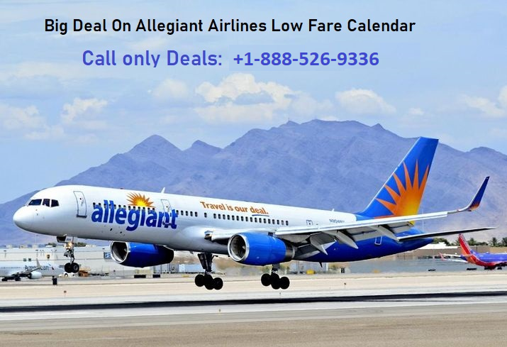 Allegiant Airlines Low Fare Calendar