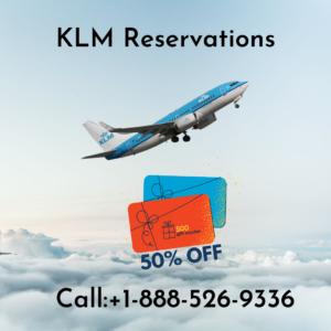 KLM Reservations