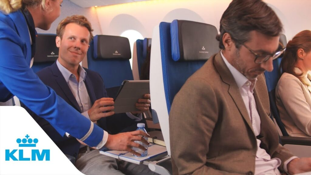 Reserve a Seat on KLM flight