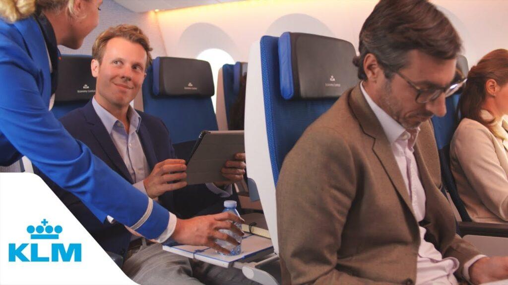 Reserve a Seat on KLM flight