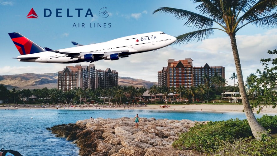Delta Airlines flights to Hawaii