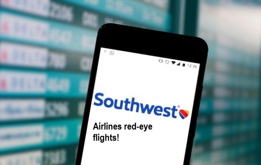 Airlines red-eye flights!